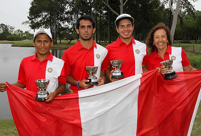 El equipo de Perú, ganador el año anterior en el Sudamericano Juvenil