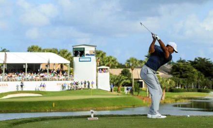 Tiger Woods (par) a un puesto del Top-ten y a siete golpes del líder del torneo, Luke List (-7)