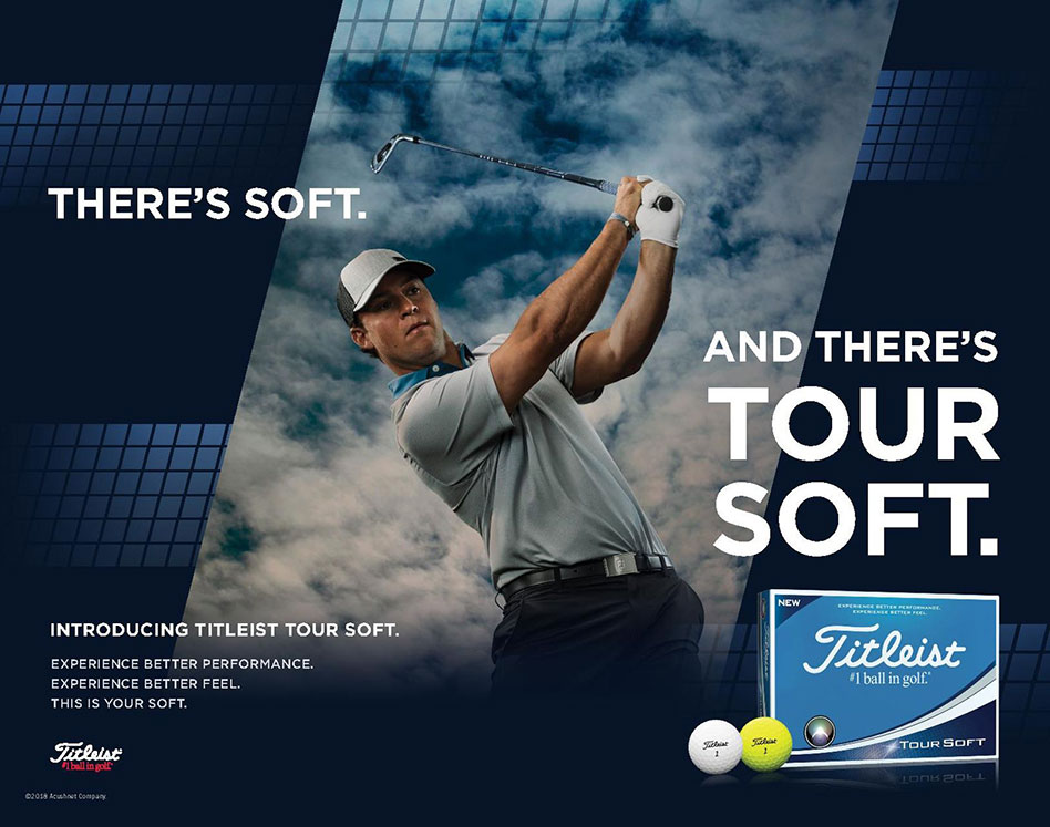 Titleist presenta las nuevas pelotas Tour Soft