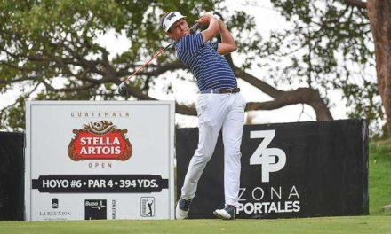 Ben Polland toma ventaja de tres golpes en Guatemala