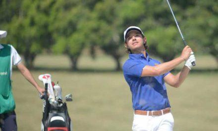 Debutó Santiago Rivas en el PGA Tour con 'score' bajo par, en el Corales Championship