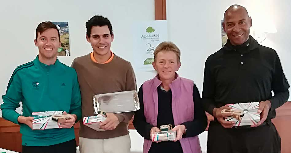 El equipo de Lauro Golf se proclama campeón de la primera Prueba Interclubs Pitch&Putt en Alhaurín Golf