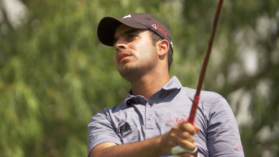 Shubhankar Sharma (cortesía Golf Channel)