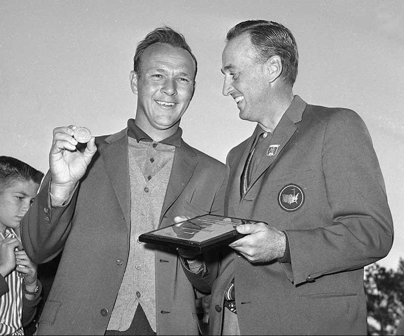 Arnold Palmer y el Masters 1960 (cortesía Augusta National y Getty Images)