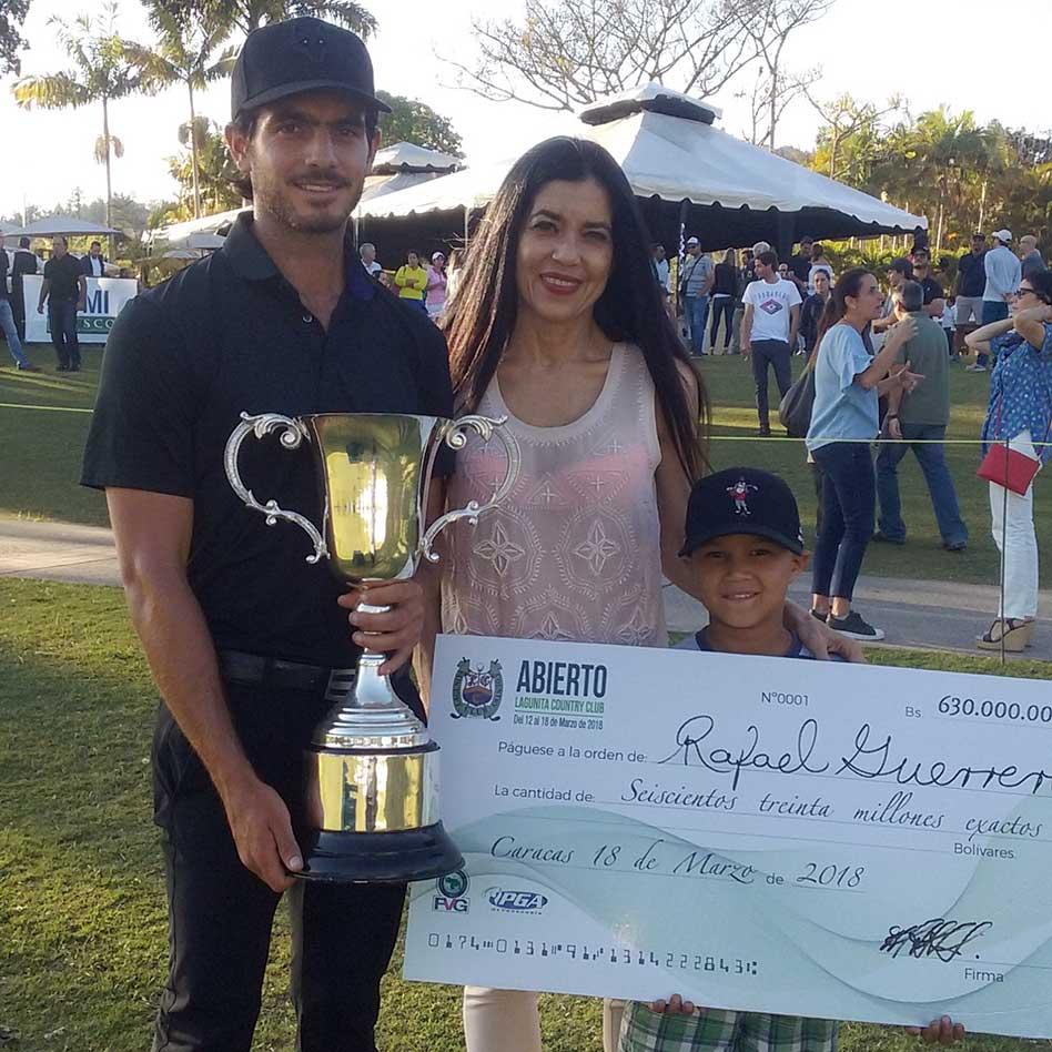 Rafael Guerrero campeón Abierto Lagunita CC 2018