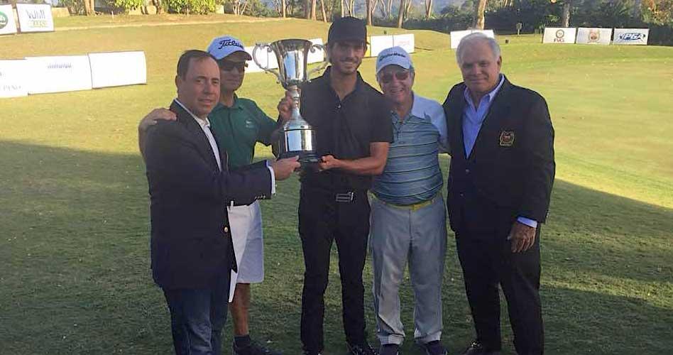 Rafael Guerrero ganador del Abierto de Lagunita