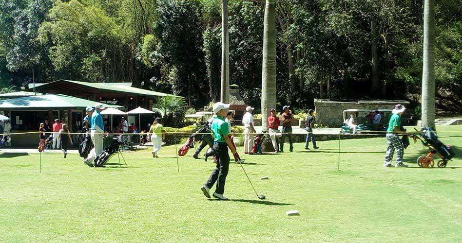 Torneo Juvenil FVG en el Izcaragua fue escenario para el buen juego del Semillero del Golf Nacional
