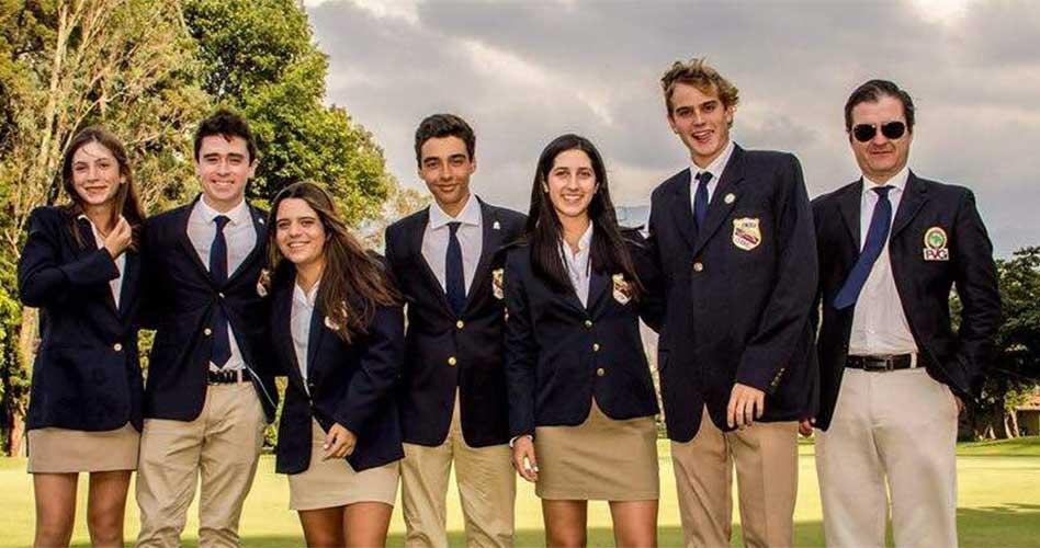 Venezuela 3era y 4ta en el Sudamericano Juvenil de Golf en Medellín