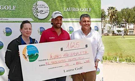 Álvaro Arizabaleta se proclama ganador de la tercera prueba del Circuito de Profesionales de Lauro Golf