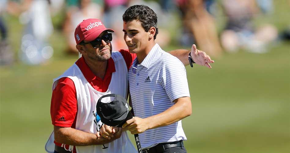 Chileno Joaquín Niemann termina sexto en su debut profesional en el PGA TOUR