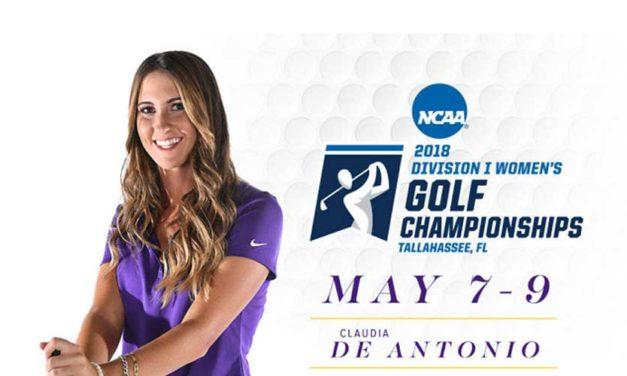 Claudia De Antonio avanza a Regional de la NCAA