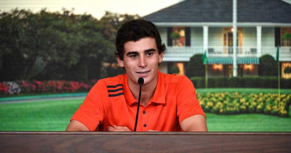 El campeón del LAAC arranca su sueño en el Masters