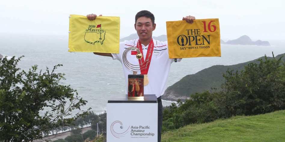 El chino Haotong Li quiere hacer historia en Augusta