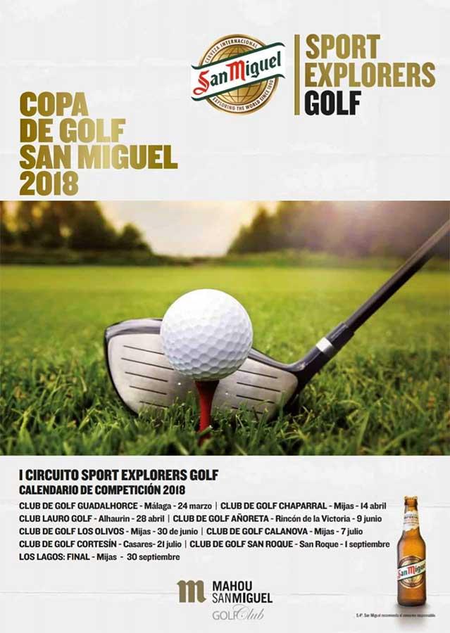 El Circuito Mahou-San Miguel Golf Club llega a Lauro Golf el próximo veintiocho de abril