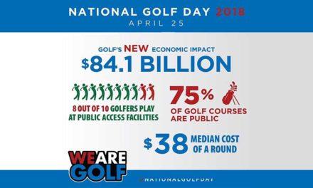 En el golf se impacta la bola y la economía