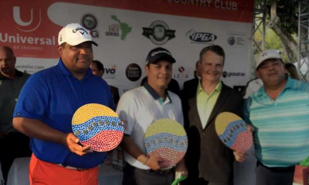 """Equipo de Miguel Martínez ganó el ProAm """"Toyota"""" de golf"""