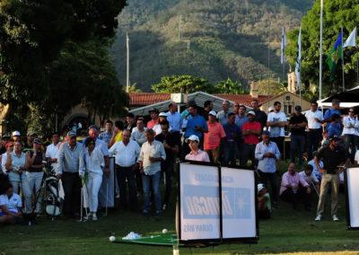 Trujillo comanda las acciones al llegar a los 54 hoyos en el 34º Abierto de Venezuela