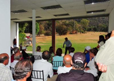 Galería, clínica de golf con el profesor Mariano Bartolomé