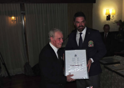 Galería del acto de Reconocimientos al Mérito Golf 2017