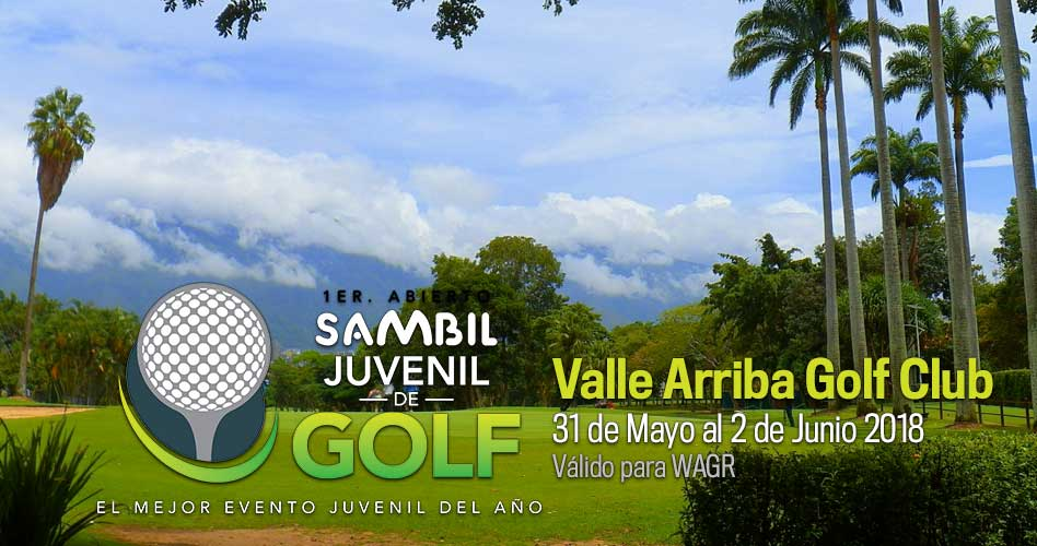 I Abierto Sambil Juvenil, detalles oficiales del evento