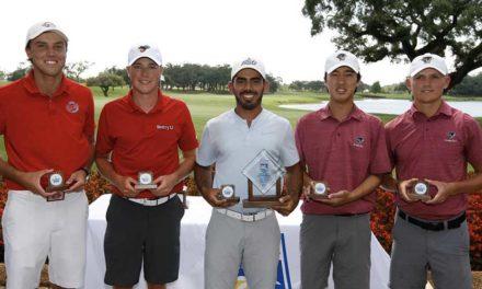 Juan José Guerra gana evento de golf en Sunshine State Conference Championship en Florida