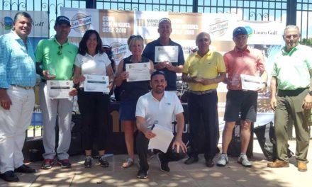 La primera edición de la Copa San Miguel llena de buen golf y mucho ambiente las instalaciones de Lauro Golf