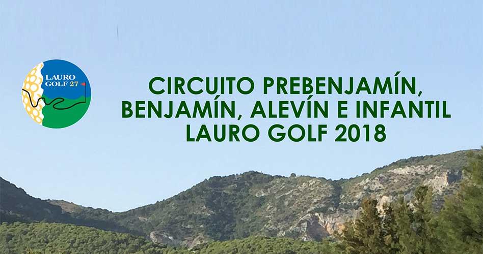 Lauro Golf continúa su apuesta por el golf de base con la organización de dos circuitos propios