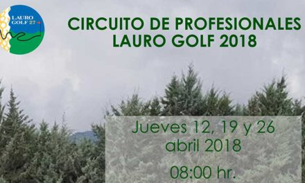 Lauro Golf prepara la primera edición de su propio circuito de profesionales