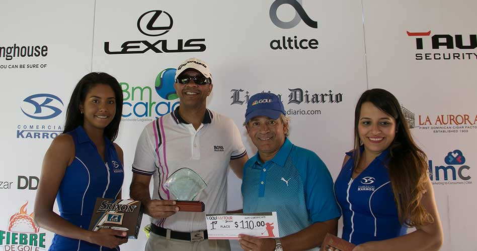 Malespín y Felix ganan en playoff en 3ra. Parada Golf Channel AM Tour RD