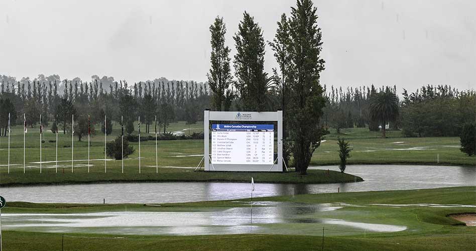 Segunda ronda del Molino Cañuelas Championship se completará este sábado