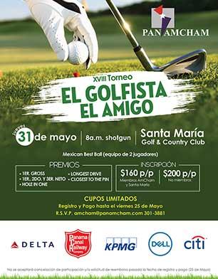 XVIII Torneo El Golfista El Amigo. 31 de Mayo, Santa María Country Club