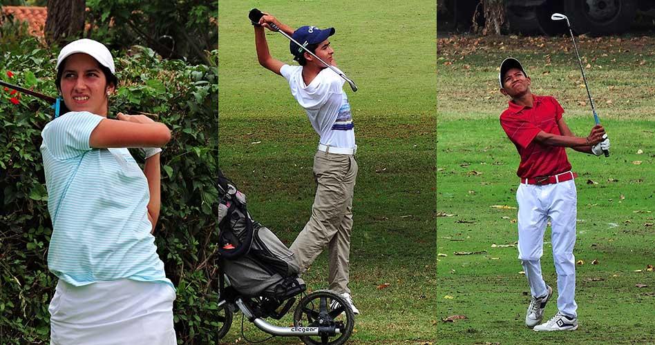 Tres campeones nacionales jugarán en el 1er Abierto Sambil Juvenil de Golf