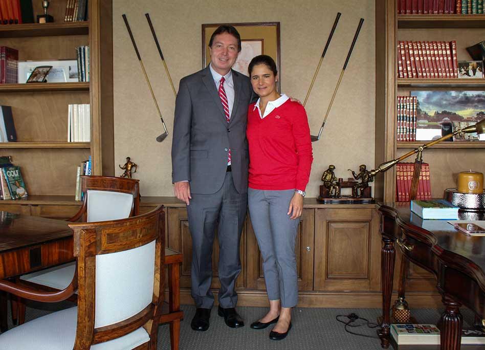 AGVM nombra a Lorena Ochoa socia honoraria de sus clubes