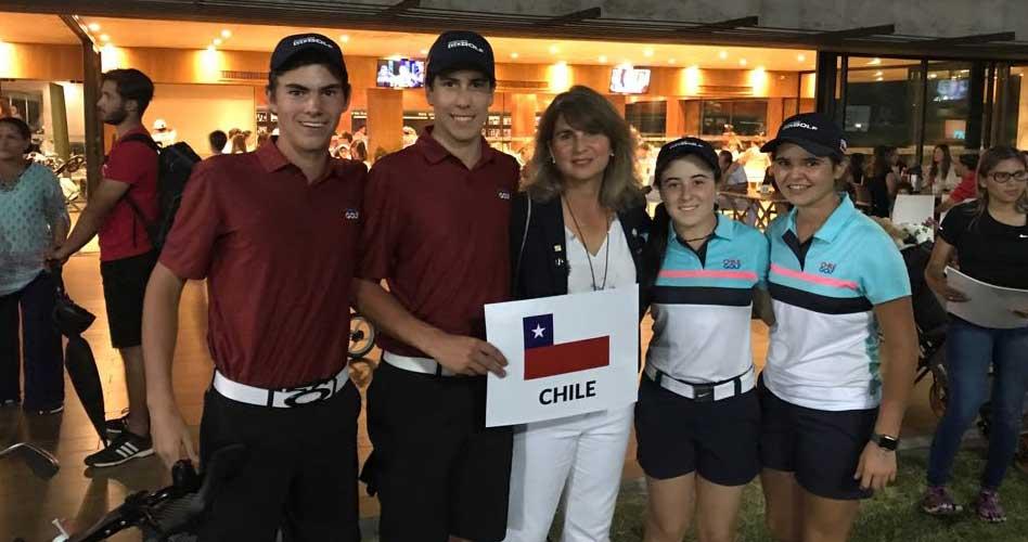 Chile termina en el 2° puesto del Dobles Mixto en Paraguay