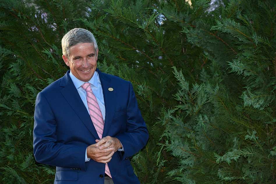 Comisionado discute presente del PGA TOUR y su influencia en América Latina (cortesía Ryan Youn / PGA TOUR)