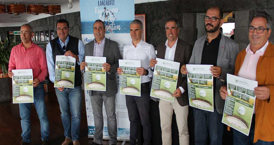 El II International Golf Lanzarote Cup volverá a unir turismo y deporte