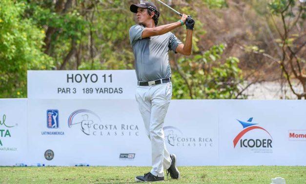 Godoy abre con récord de campo y es líder del Costa Rica Classic