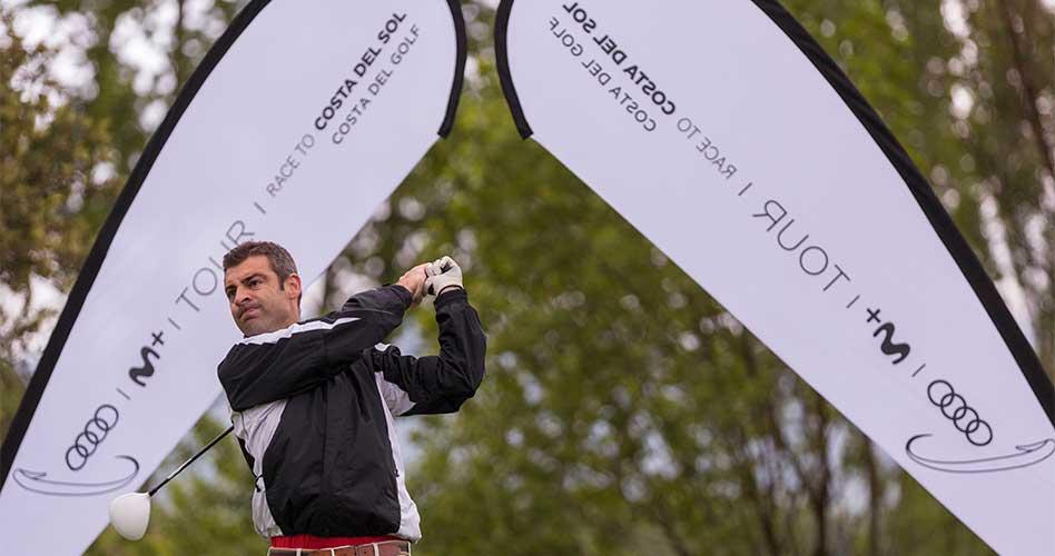 Golf la Roca acoge con éxito el Audi Movistar+ Tour Race To Costa del Sol