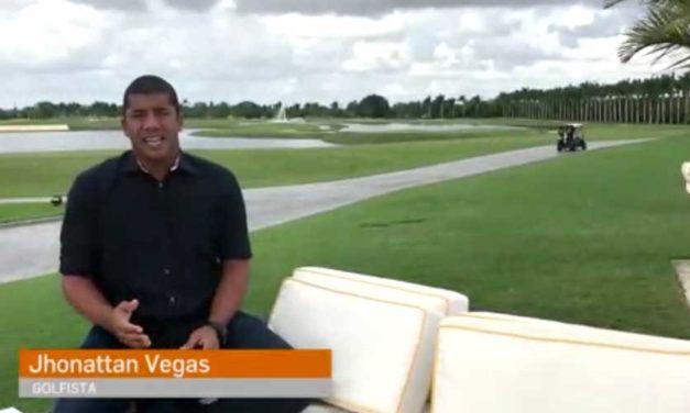 Hablamos con el venezolano multicampeón internacional de golf