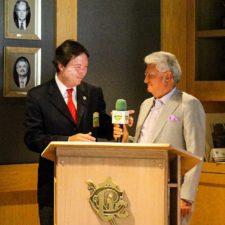 Ing. Fernando Lemmen y el CP Manuel Antuna
