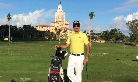 Julio Nutt se pone On-Line para atender demanda de Clases de Golf