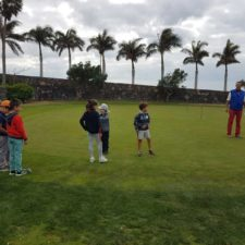 Lanzarote Golf acogió la segunda prueba del circuito infantil insular
