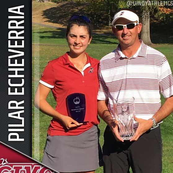 Las lecciones de Pilar en el Golf Universitario