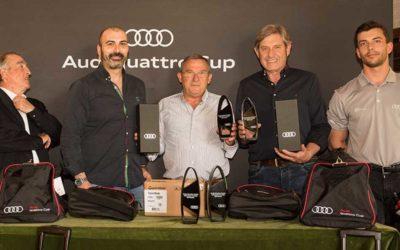 Más de 200 golfistas desafían la Audi quattro Cup 2018 en Ulzama y El Prat