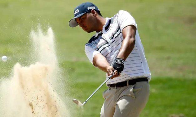 """Muñoz alcanza el liderato en el Nashville Golf Open y sigue en racha: """"Mi confianza crece semana a semana"""""""