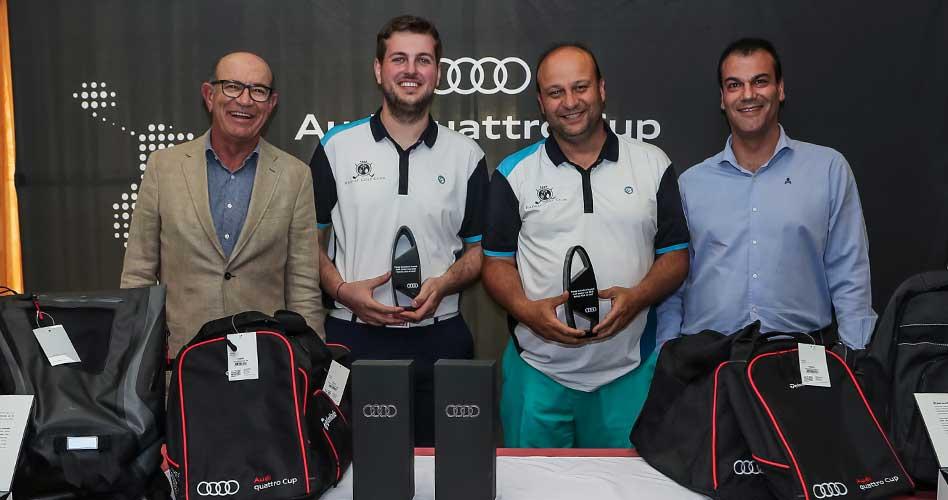 Raimat Golf Club acoge la primera parada catalana de la Audi quattro Cup 2018