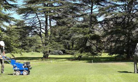 Renovando la cancha de golf
