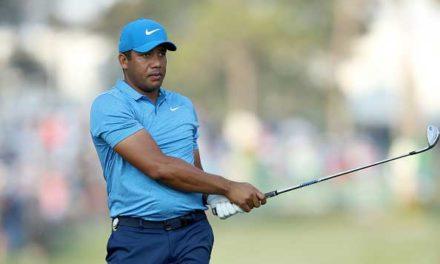 Vegas le saca una sonrisa a su golf para quedar a un golpe de los seis líderes del PLAYERS; Grillo remonta y Woods sufre