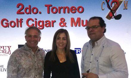 Anuncian segunda edición torneo Golf, Cigar & Music 2018