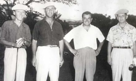 Behrens el campeón, el dirigente y el promotor del golf en Venezuela